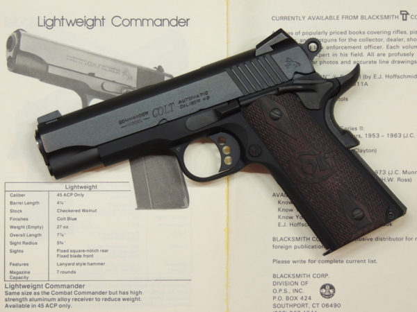 COLT 1911 LIGHTWEIGHT COMMANDER 45 ACP
