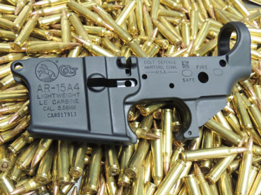 Colt AR-15A4 LE Stripped Lower Receivers