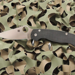 SPYDERCO PARAMILITARY 2 FOLDING KNIFE