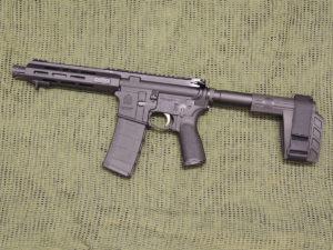 Springfield Armory Saint 5.56MM AR Pistol.