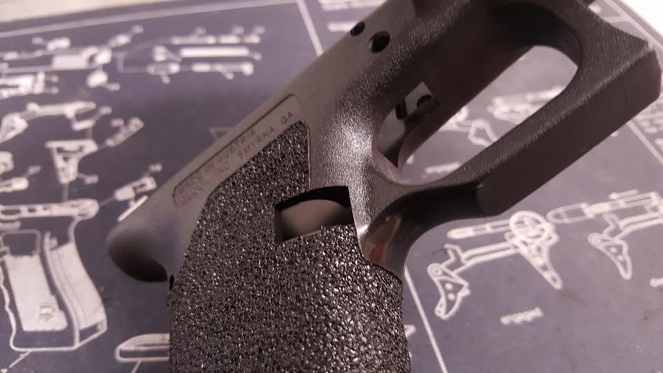 gun stippling
