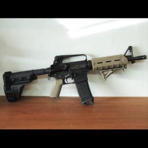 New Frontier AR-15 Pistol