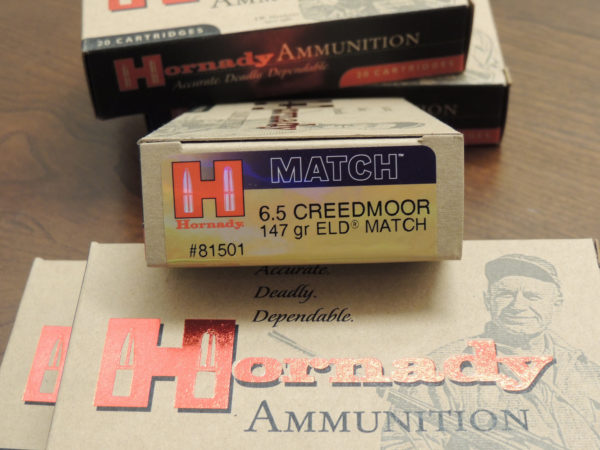 hornady 6.5 creedmor 147 grain eld match ammunition