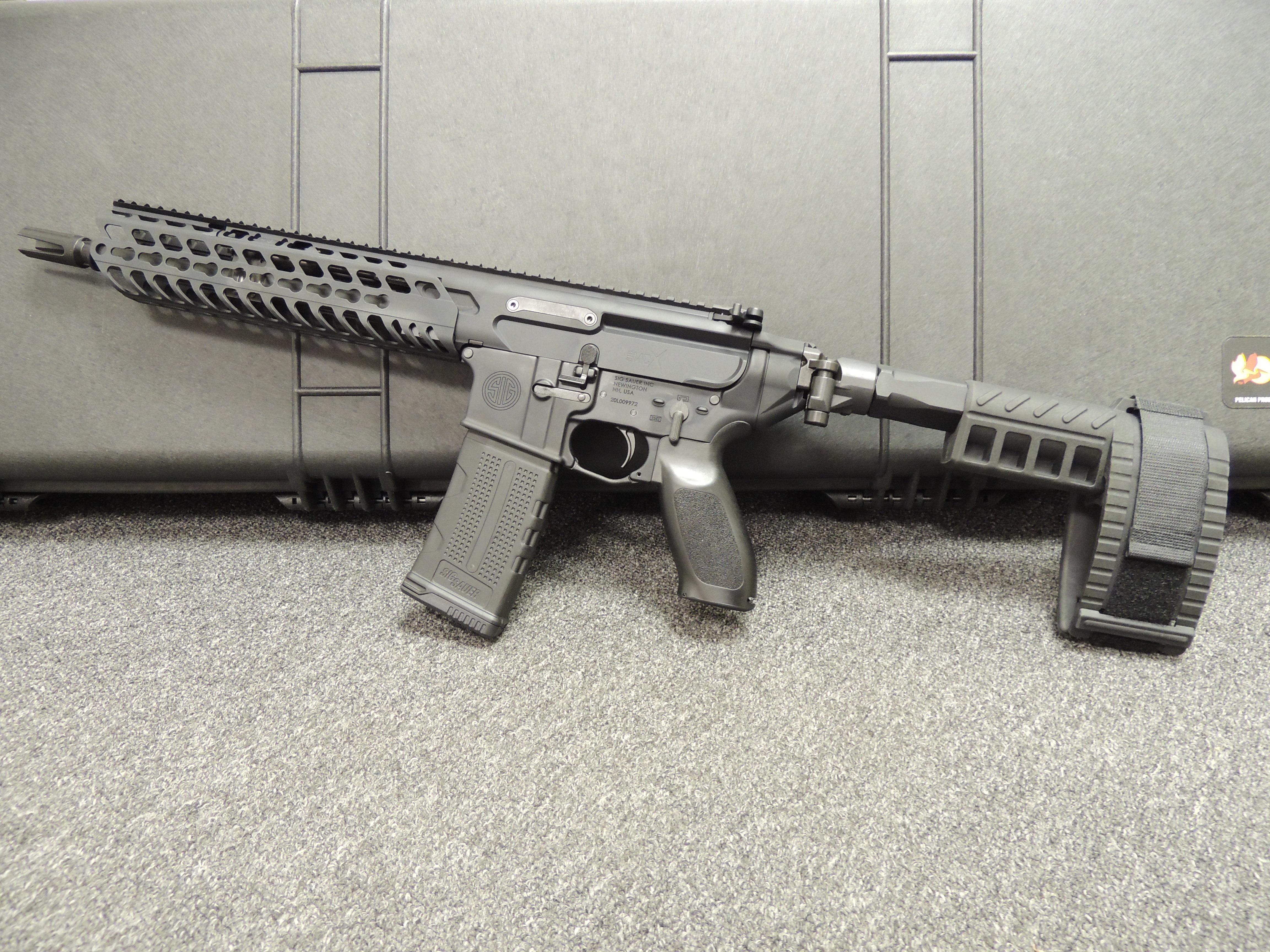 sig sauer mcx 5.56mm pistol
