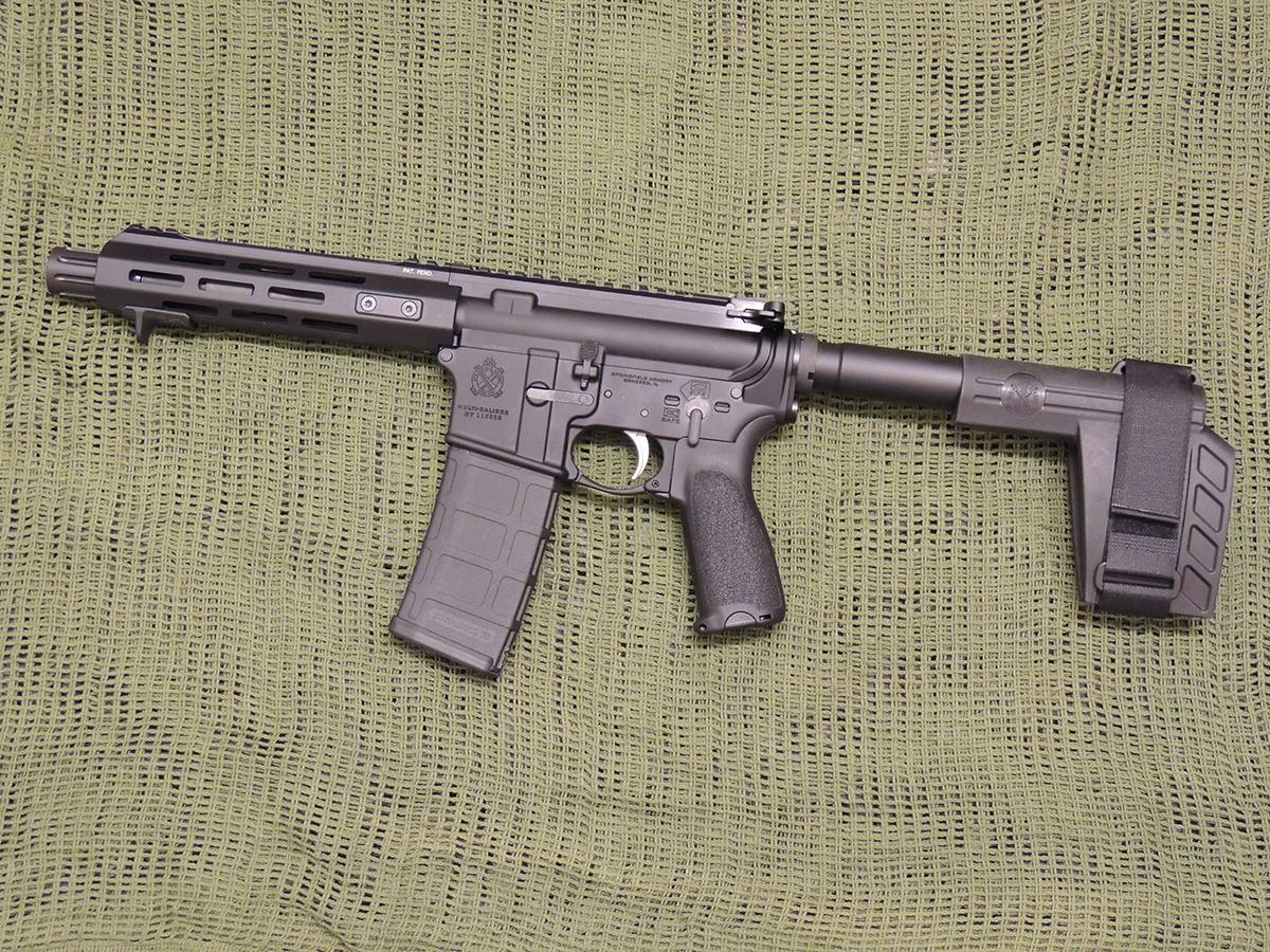 springfield armory saint 5.56mm ar pistol