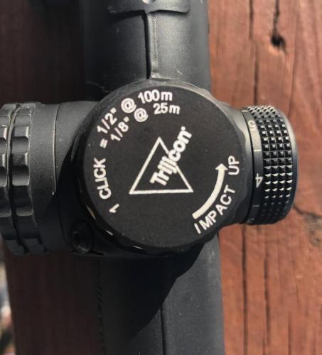 trijicon variable combat optic gunsight